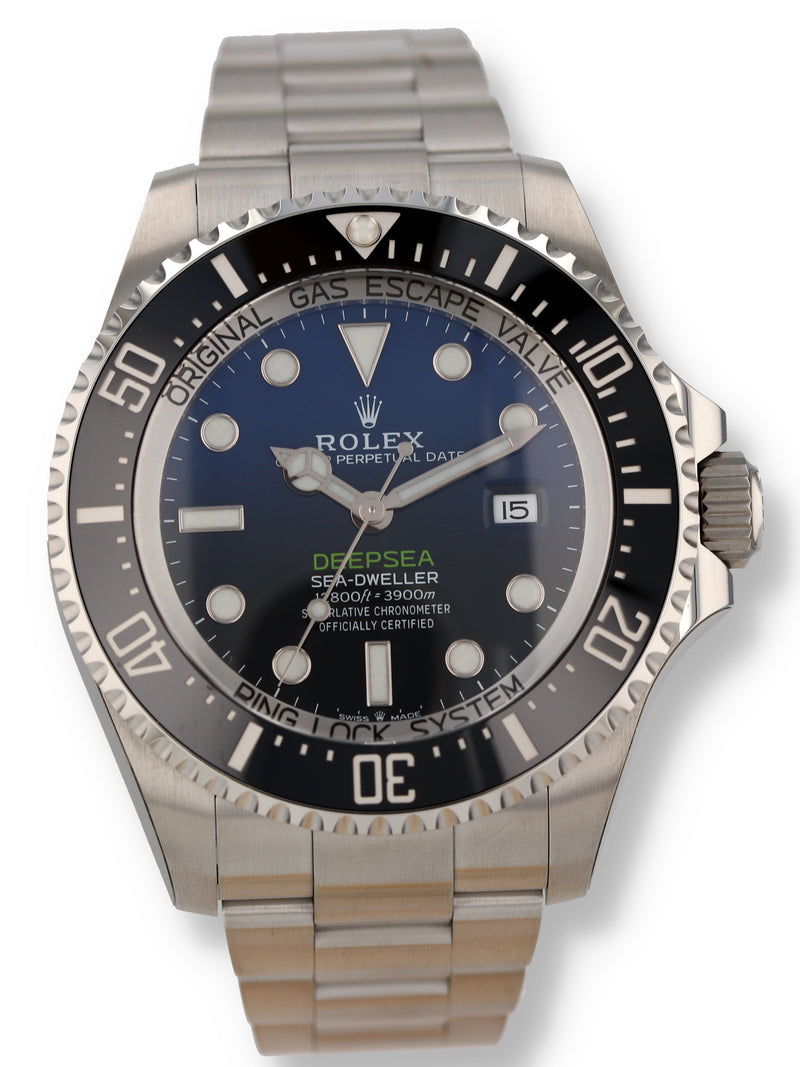 "35508: Rolex ""James Cameron"" DeepSea Sea-Dweller, Ref. 126660, 2019 Unworn"