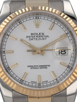 35548: Rolex Datejust 36, Ref. 116233, 2018 Full Set