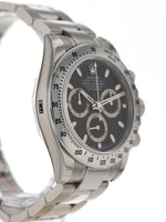 35561: Unworn Rolex 116520 Daytona, 2009 Full Set with Factory Stickers