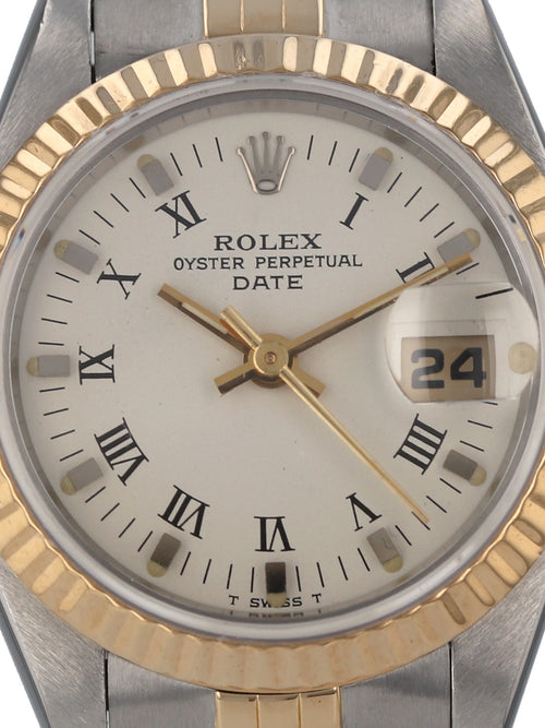 35598: Rolex Ladies Date, Ref. 79173, 2002 Full Set