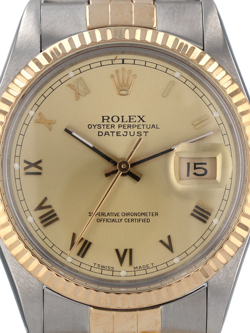 35600: Rolex Vintage 1986 Datejust, Ref. 16013, Full Set