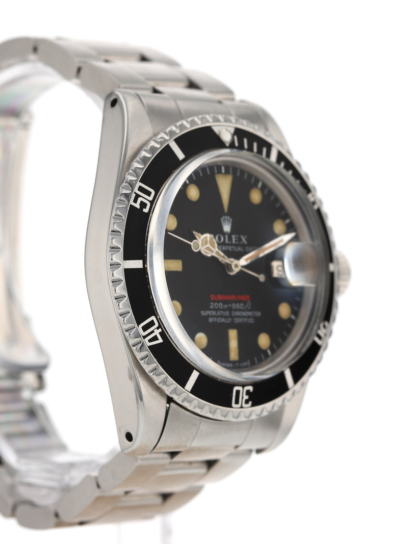 35645: Rolex Vintage 1969 Red Submariner, Ref. 1680
