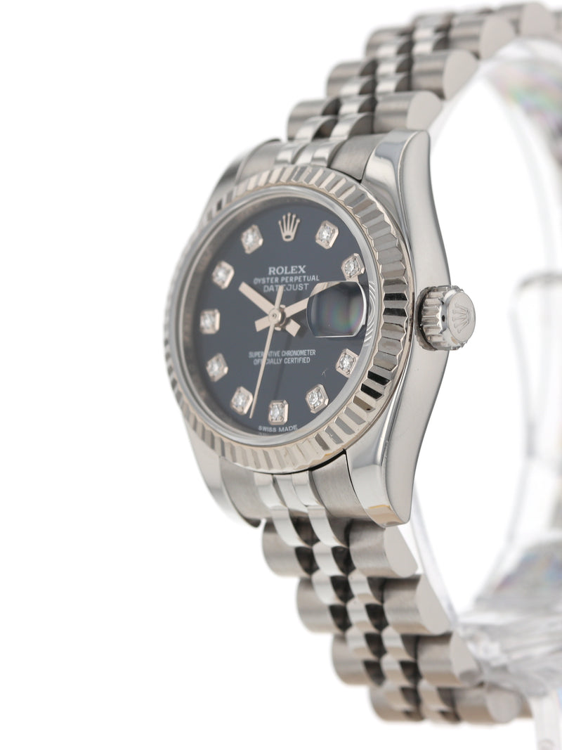 35646: Rolex Ladies Datejust, Ref. 179174, 2014 Full Set