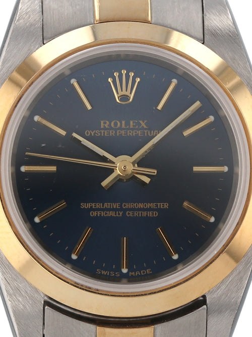 35660: Rolex Ladies Oyster Perpetual, Ref. 76183