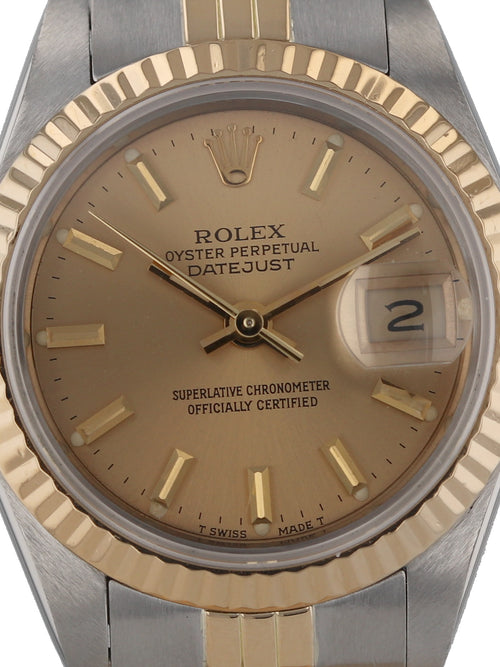 35671F: Rolex Ladies Datejust, Ref. 69173, circa 1985