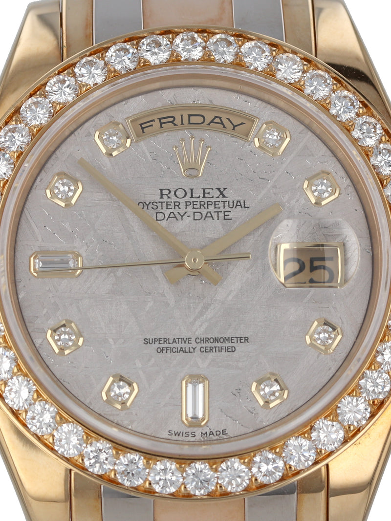 35683: Rolex Tridor Day-Date Masterpiece, Ref. 18948, 1995 Full Set