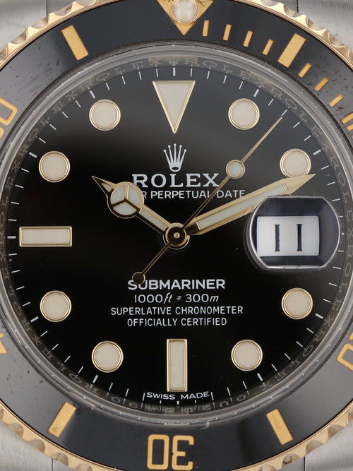 35691: Rolex Submariner, Ref. 116613LN, 2019 Full Set