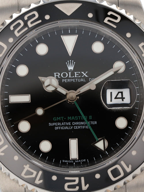 35699: Rolex GMT-Master II, Ref. 116710LN, 2007 Full Set