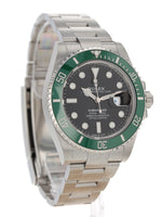 "35703: Rolex ""Kermit"" Submariner 41, Ref. 126610LV, 2020 Unworn Full Set"