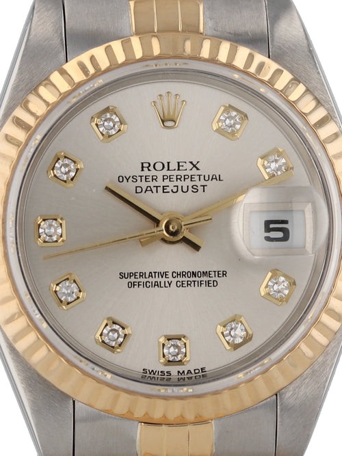 35743: Rolex Ladies Datejust, Ref. 79173, Circa 2002
