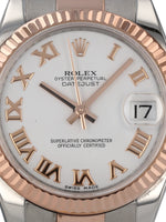 35787: Rolex Datejust 31, Ref. 178271, 2013 Full Set