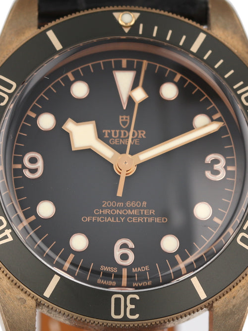 35795: Tudor Black Bay Bronze, Ref. 79250BA, 2019 Full Set