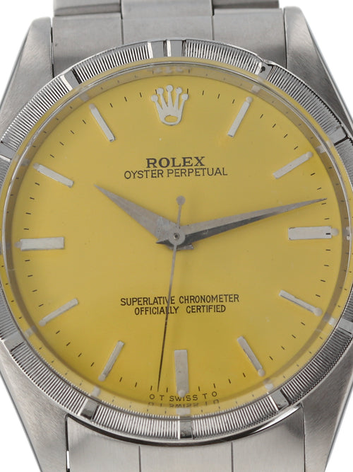 35824: Rolex Vintage  1962 Oyster Perpetual, Ref. 1007, Custom Color Dial