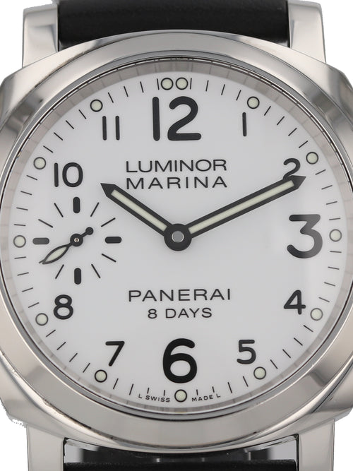 35827: Panerai Luminor Marina 8-Day, PAM00563, 2017 Full Set
