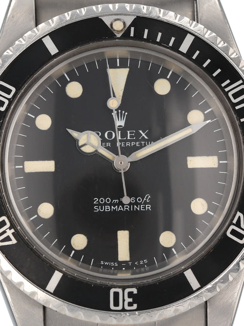 35838: Rolex Vintage 1969 Submariner, Ref. 5513, Meters First