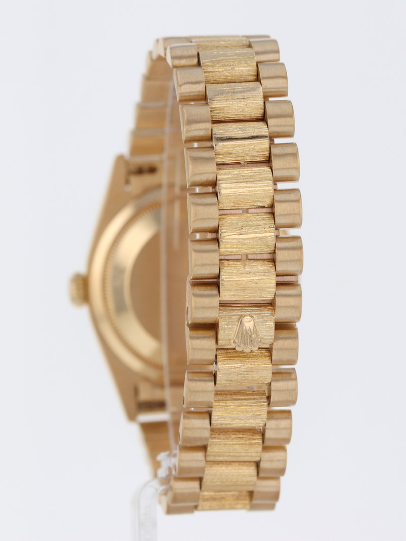 35852: Rolex 18k Yellow Gold Day-Date, Ref. 18248, Circa 1995