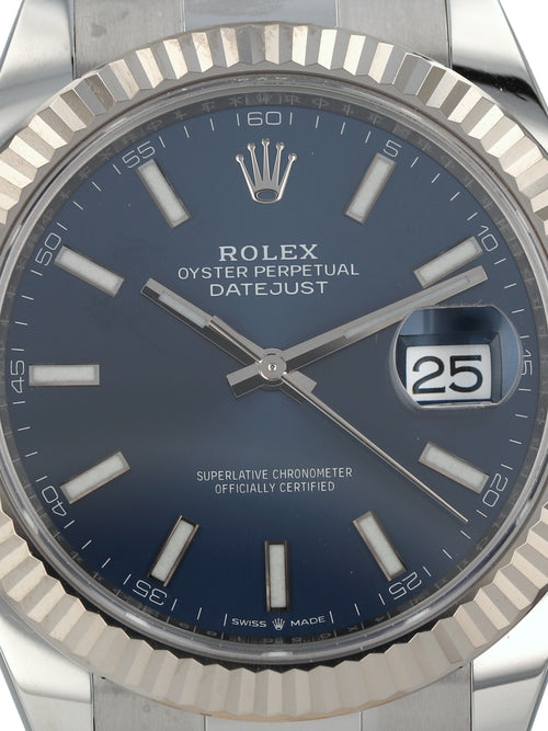 35860: Rolex Datejust 41, Ref. 126334, 2020 Full Set