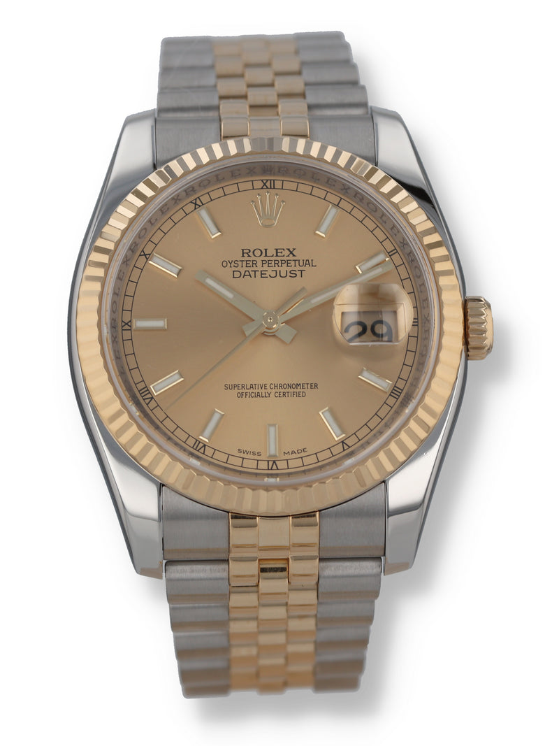 35955: Rolex Datejust 36, Ref. 116233, 2007 Full Set