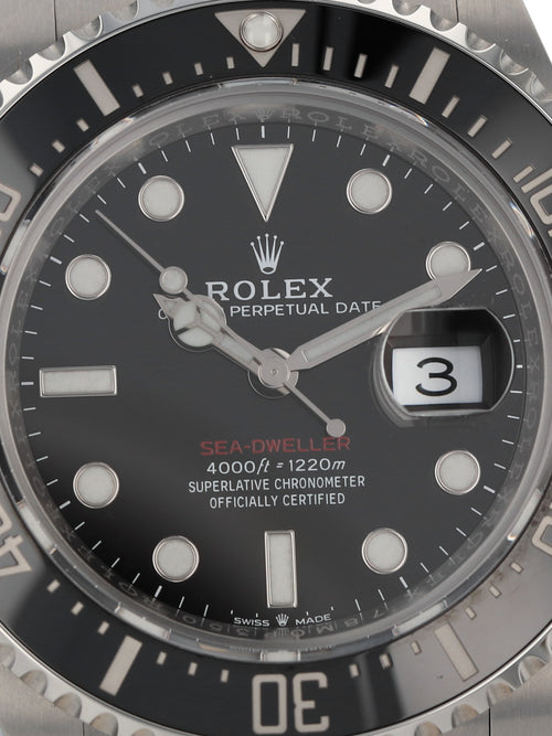 35961: Rolex Sea-Dweller, Ref. 126600, 2021 Full Set