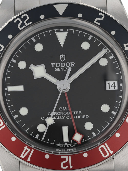 "(On Hold) 35983: Tudor Black Bay GMT ""Pepsi"", Ref. 79830RB, 2020 Full Set"