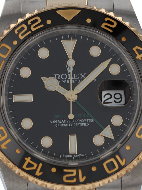 35992: Rolex GMT-Master II, Ref. 116713LN, 2014 Full Set