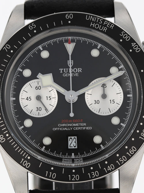 36008: Tudor Black Bay Chronograph, Ref. 79360N-0006, Unworn 2021 Full Set