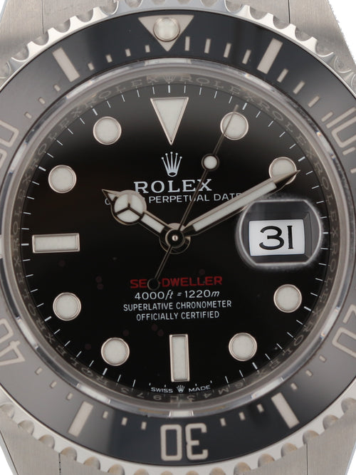 50554: Rolex Sea-Dweller, Ref. 126600, Unworn 2020 Full Set