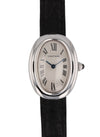 Cartier 18k White Gold Ladies Baignoire Quartz