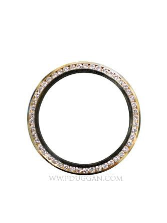 14k Yellow Gold Midsize Bezel