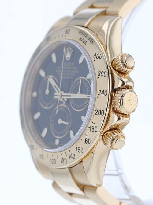 18k Yellow Gold Daytona Ref. 116528