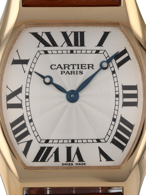 J34269: Cartier Large Tortue Privee, Manual Wind