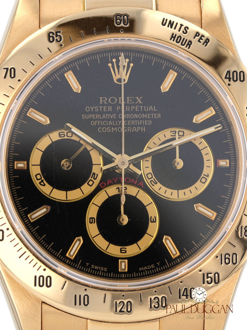 18k Yellow Gold Zenith Daytona Ref. 16528