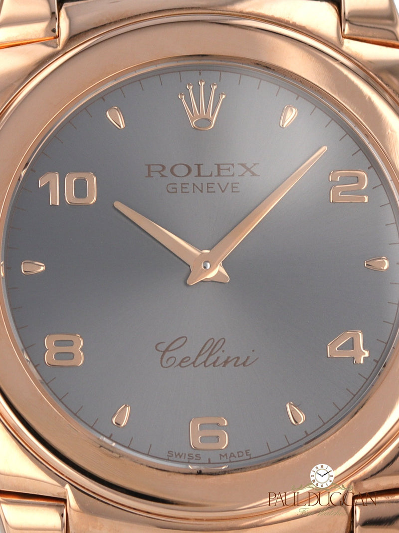 Rolex 18k Rose Gold Cellini Ref. 5330