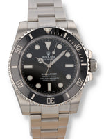 "J35774: Rolex Submariner ""No Date"", Ref. 114060, Unworn Full Set"