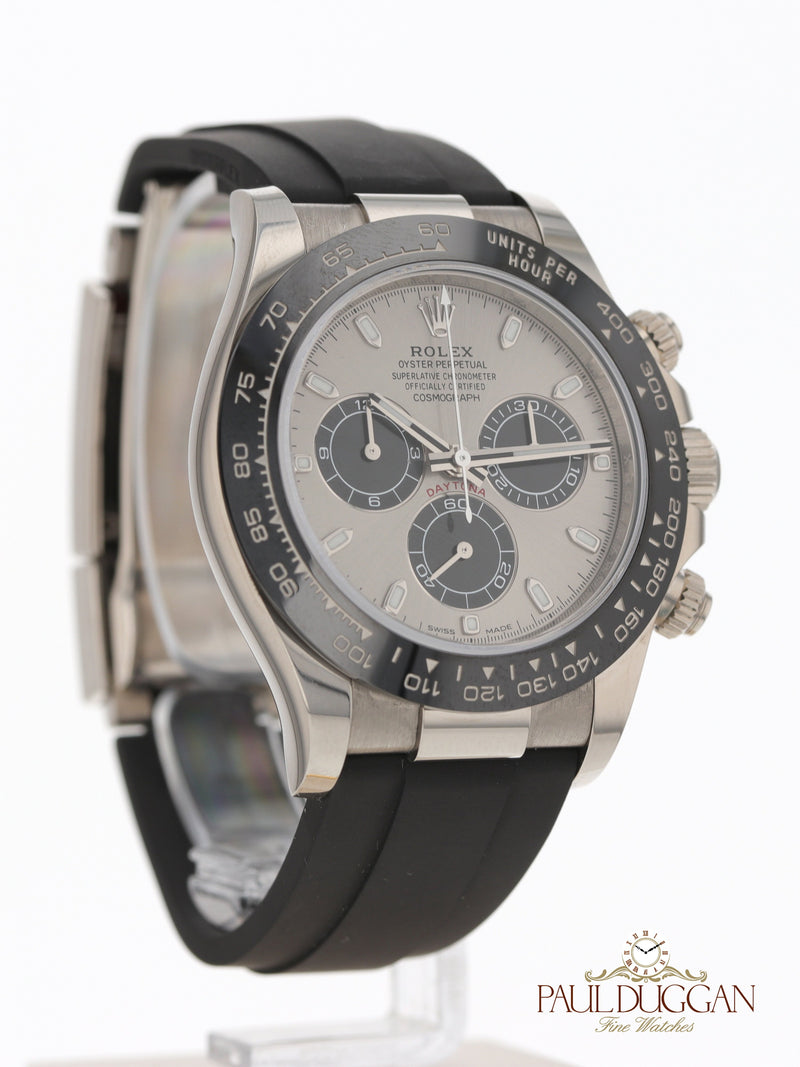 Rolex 18k White Gold Daytona 2020 Full Set
