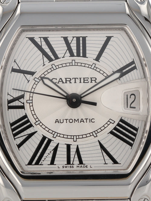 M35727: Cartier Stainless Steel Large Roadster, Automatic, Ref. 2510