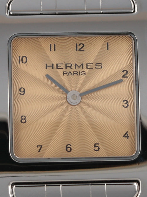 "M35763: Hermes Ladies ""H"" Hour, Ref. HH1.210, Full Set"