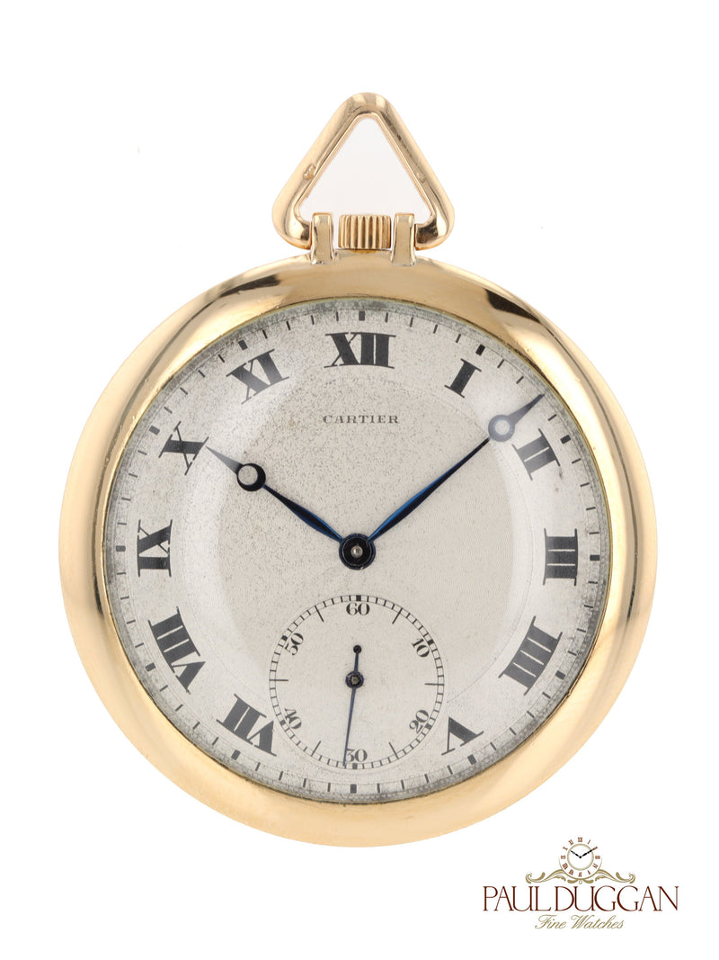 P40761: 18k Pocketwatch Size 46mm