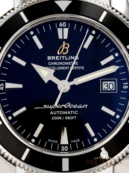 Breitling SuperOcean Heritage 42 2014 Full Set Ref. A17321