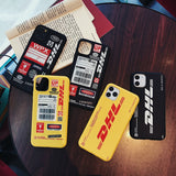 Casetify DHL Express Silicone Case For iPhone