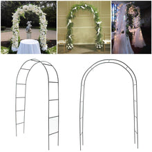 Load image into Gallery viewer, Wedding Arch Decorative Garden Backdrop Pergola Iron Stand Flower Frame