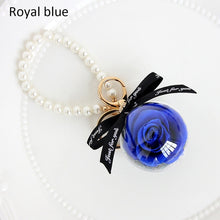 Load image into Gallery viewer, Eternal Flower Natural Dried flowers Pendant Keychain Make A Wish