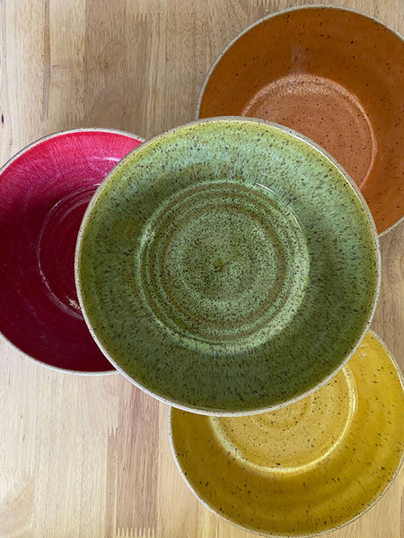 Colorful Bowls - 7 in, Set of 4