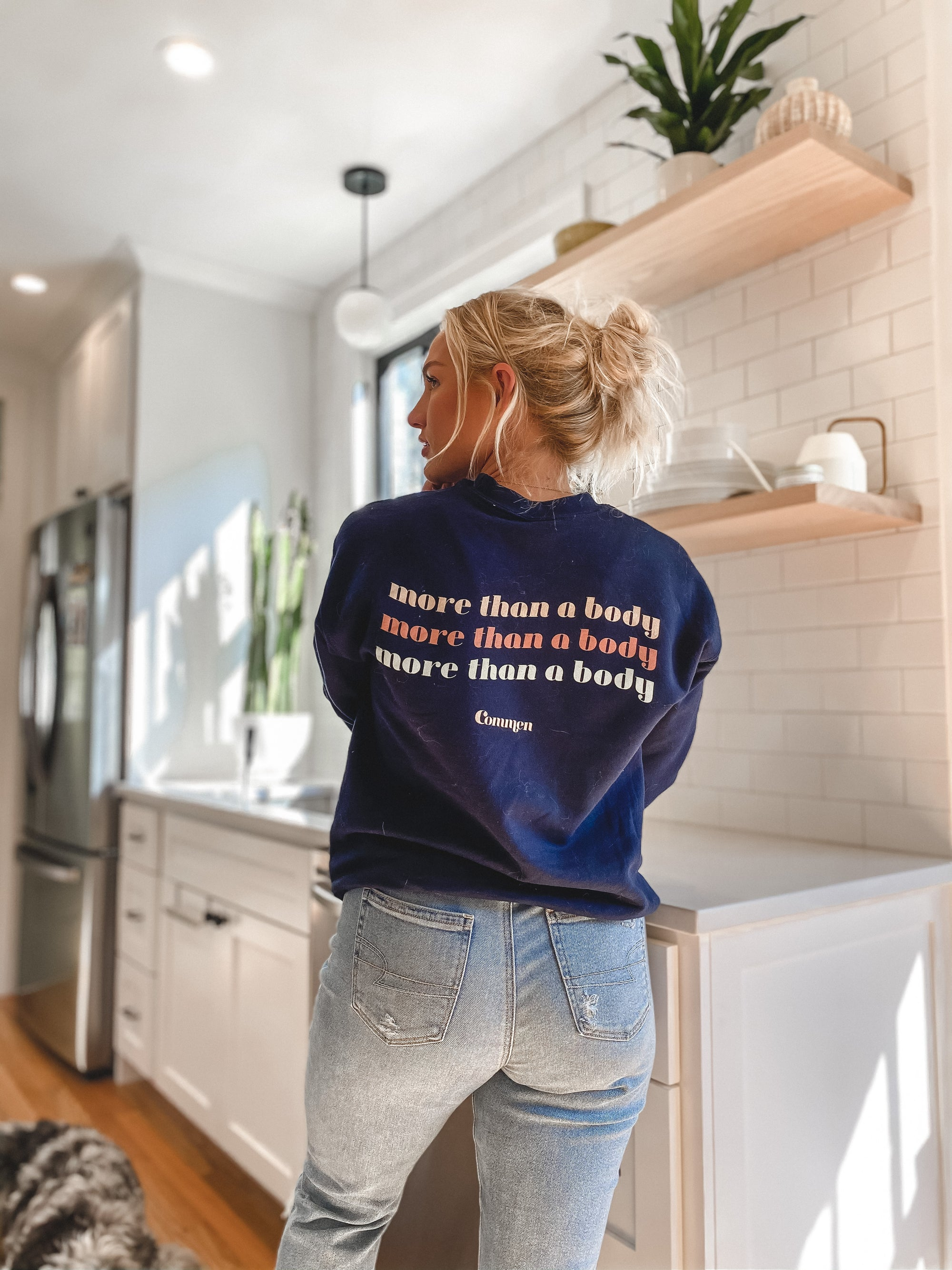 More Than A Body Crewneck