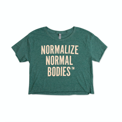 Normalize Normal Bodies™ Cropped Tee
