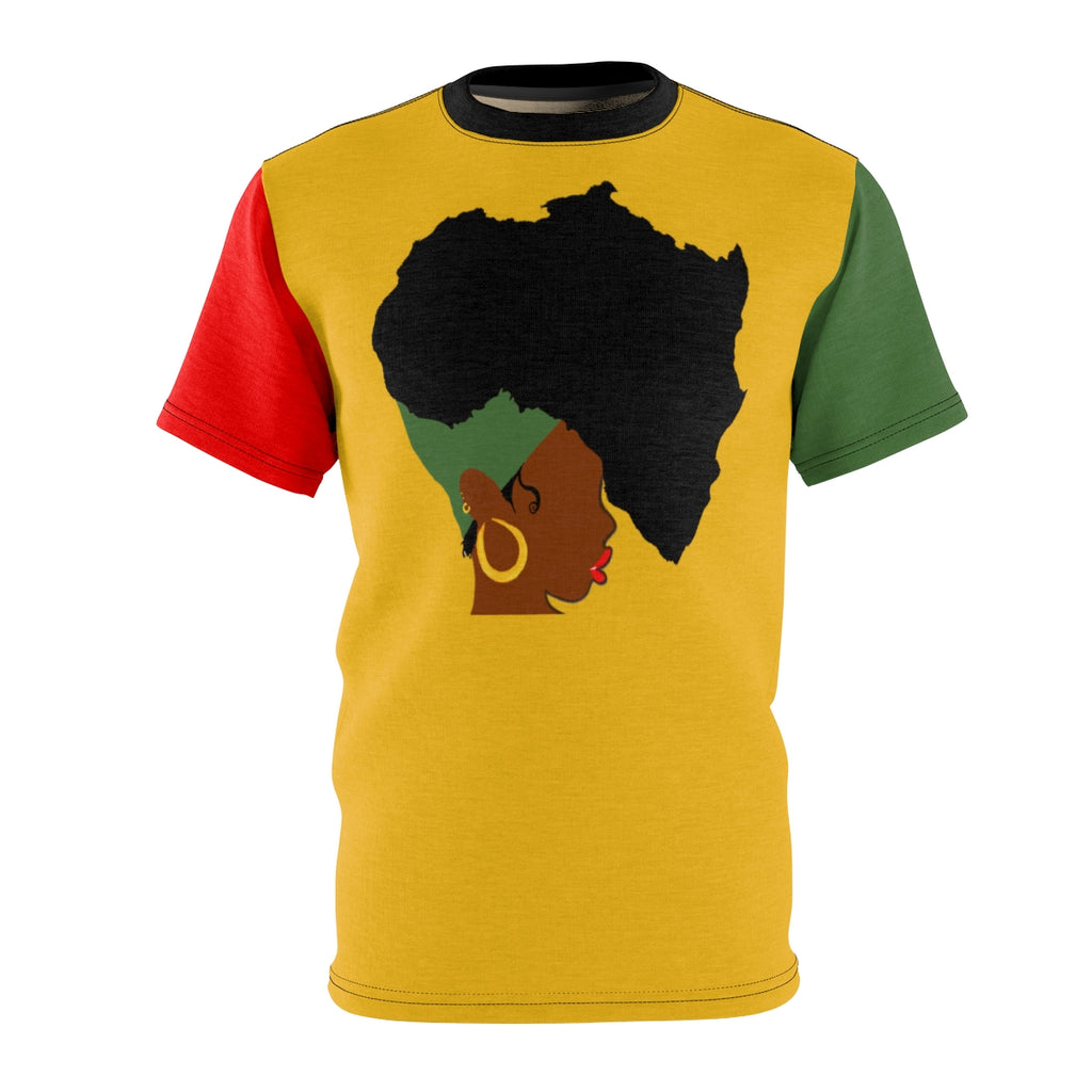 Earth Motherland © rgbY Color Block T-Shirt