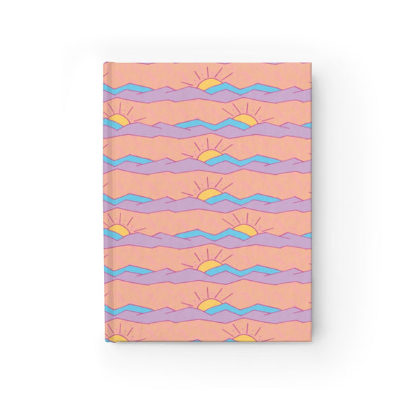 Pastel Mountains Journal - Blank