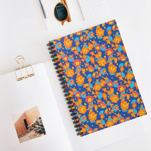 Flower Child Spiral Notebook - Ruled Line