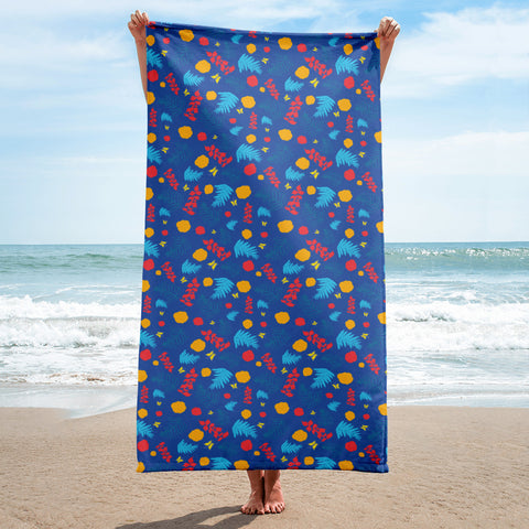 Blue Summer Towel