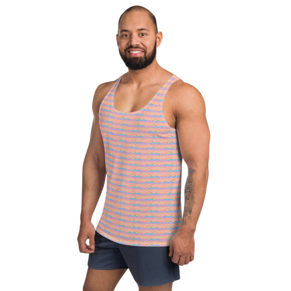 Pastel Mountains Men's Tank Top
